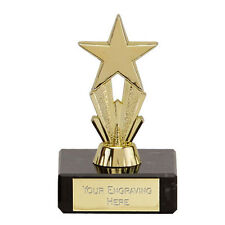Micro Star Award Trophy Fathers Day Mothers Day Valentines Day School FREE eng.