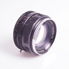 = Minolta Auto Rokkor PF 50mm f1.4 Lens for Minolta MC Mount SLR Cameras