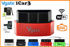 Vgate® iCar 3 ELM327 WiFi V3.0 OBD2 Diagnostics Scanner ANDROID iOS iPHONE iPAD