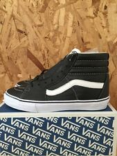 VANS VAULT SK8 HI LX BLACK LEATHER SIZE 9 NIB