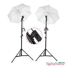 soft ombrello Kit illuminazione luce continua Lampada studio fotografico 380W*2