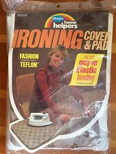 "NEW! vtg Magla Home Helpers Ironing Cover + Pad 1980s 54"" # 3319 Easy On NIP"