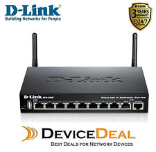 D-LINK DSR-250N Unified Wireless N Services Router with 8 LAN and 1 WAN
