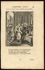 Antique Print-MORALITY-WHIP-FOUR BREASTS-WINE-Gomberville-van Veen-1646