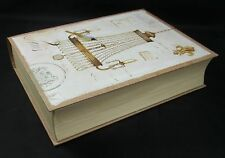 "Lustre No. 9 Paris Chandelier Bird Security Book Safe Jewely Storage Holder 11""h"