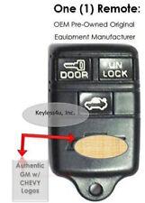 Keyless Remote Entry Chevy 94 95 Camaro Z28 OEM Transmitter Fob Phob Bob Control