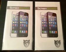 BRAND NEW SCREEN PROTECTOR FOR IPHONE 5, 5S, 5C... 2 PAIR TOTAL