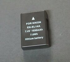 Battery for Nikon D5300 D5200 D5100 D3300 D3200 D3100 DF / EN-EL14A DH8864
