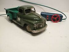 STUDEBAKER ARMY TRUCK EXCELLENT COND WITH WORK HEAD LIGHTS GOOD MADE IN JAPAN