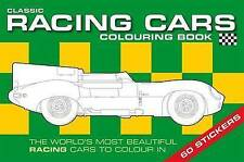 THE CLASSIC RACING CAR COLOURING BOOK NEW