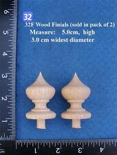*Pair of Clock / furniture Finials Style (32F)