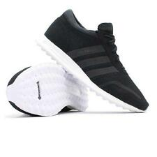 Brand New Adidas Originals Los Angeles Men's Trainers Shoes Black / White UK 9.5