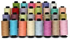 30 colore chiaro cotone filati per cucire Bobine Set * T.S COTONE OTTIMO AFFARE *