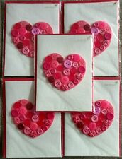 Papyrus Lot Of 5 Anyone Valentines Day Cards Buttons Retail Value $39.75!!!