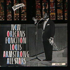 "7"" Louis Armstrong New Orleans Function (Brunswick) 10 007"