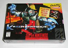 Killer Instinct Super Nintendo SNES Brand New !!! Factory Sealed !!!