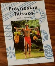 POLYNESIAN TATTOOS Past and Present by GOTZ 2005 PB