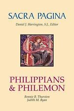 Sacra Pagina: Philippians and Philemon (Sacra Pagina (Quality Paper)), Ryan, Jud