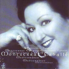 ★☆★ CD SINGLE Montserrat Caballé Mediterraneo 3-track CARD SLEEVE  RARE★☆★