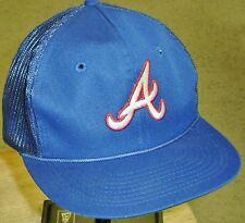 Atlanta Braves Vintage 80's 90's Snapback hat Original Mesh Sides Brand New! MLB