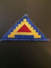 WW2 7th Army BeVo Weave Patch