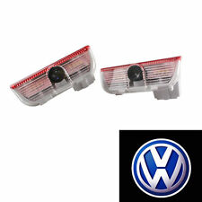 2pcs LED Ghost Shadow Light Car Door Welcome Courtesy light for VW Volkswagen