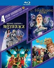 4 Film Favorites: Family Fantasy Collection (BD) [Blu-ray], Good DVD, Various, V