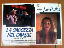 LA SAGGEZZA NEL SANGUE fotobusta poster  Wise Blood Brad Dourif Ned Beatty