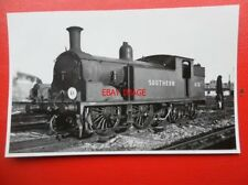 PHOTO  SR EX LSWR CLASS M7 LOCO NO (30)676 AT NINE ELMS 15/10/49