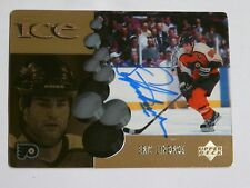 Eric Lindros signed card Philadelphia Flyers Hockey HOF Mcdonalds