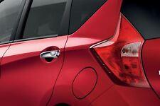 Genuine Nissan Micra 08/13  Rear Door Handle Covers - Carbon Look (KE6051K053CB)