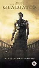 GLADIATOR - STARRING RUSSELL CROWE   VHS VIDEO TAPE (VGC)