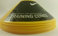 Nike Training Cones 10 Pack Agility Speed Football Soccer Lot of NIKE Cones