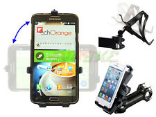Universal Mobile Phone Bike Stem Mount Holder Fit iPhone HTC Samsung Sony LG