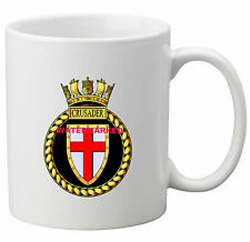 HMS CRUSADER COFFEE MUG