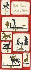 VINTAGE DUCK GOLF HORSE IRISH SETTER HUNTING JOCKEY DEER WEATHERVAVE SWAN CARD
