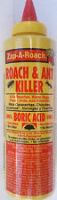 Insect Ant Roach Flea & Bug Killer, 100% Boric Acid, 5 oz Powder Zap-A-Roach