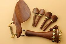 New top Red sandalwood Luthier violin parts 4/4 full size Violin Accessories