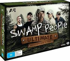 SWAMP PEOPLE : THE ULTIMATE COLLECTOR'S SET 1-6  -  DVD - UK Compatible