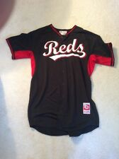 Authentic Game Worn 2014 Cincinnati Reds Curtis Partch Road BP Jersey (Size 48)