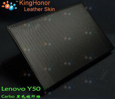 KH Special Laptop Carbon Skin Cover For Lenovo IdeaPad Y50 Y50-70 Series