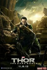 THOR   the DARK WORLD   LOKI  maxi poster 61cm by 91.5cm