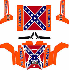 POLARIS RAZR UTV  RZR side by side 07-16 ORANGE FLAG Wrap Decal Sticker kit