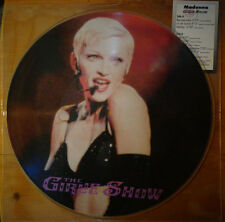 "Ultra Rare ! Madonna The Girlie Show Live! 12"" Picture Disc Vinyl  LP"