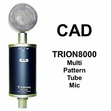 CAD Trion8000 Multi Pattern Large Dual Diaphragm Tube Studio Mic $20 Instant Off