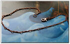 Ladies Solid Copper Link Bracelet 636G -1/16 inch wide - 6 1/2 to 9 inch lengths
