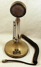 Astatic D-104 Lollipop Microphone w/ T-UG8 Stand/Base - Mic - Vintage
