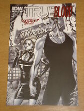 TRUE BLOOD TAINTED LOVE #3 RI A WASH COVER 2011 IDW J. SCOTT CAMPBELL