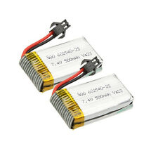 2x7.4V 500mah Battery for Quadcopter Helicopter RC Toys Drone JJRC H8C F183 H8D