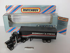 ★ Matchbox CONVOY CY9 ★  MIDNIGHT X-PRESS / US TRUCK